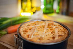 vegetarische keto dieet quiche