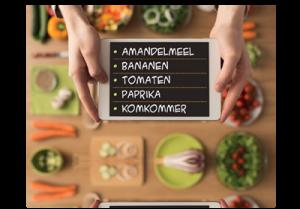 suikervrije recepten boodschappenlijst