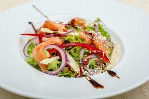 salade lunch zalm